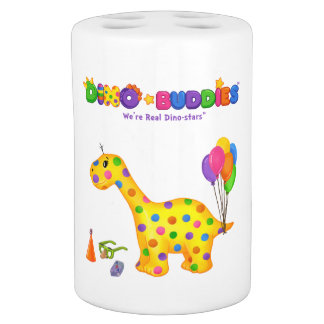 Dino-Buddies™ Toothbrush Holder * Soap Kit-Rollo™