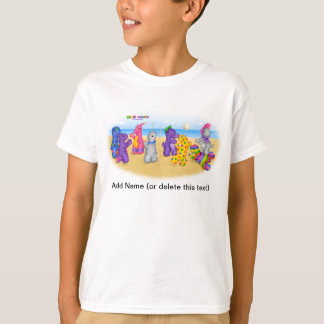 DINO-BUDDIES™ - Volley Ball T-Shirt (White)