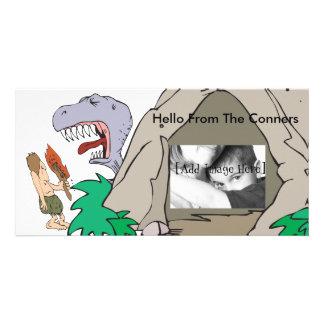 Dino Burp Custom Photo Card