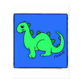 Dino Cartão Postal