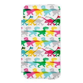 Dino Color Pattern Incipio Watson™ iPhone 5 Wallet Case