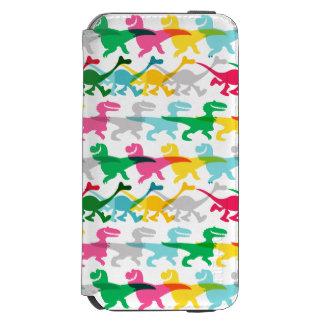 Dino Color Pattern Incipio Watson™ iPhone 6 Wallet Case