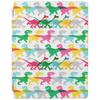 Dino Color Pattern iPad Cover