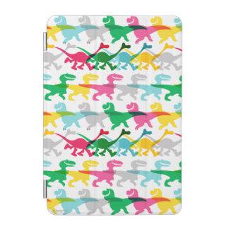 Dino Color Pattern iPad Mini Cover