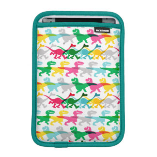 Dino Color Pattern iPad Mini Sleeve