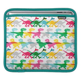 Dino Color Pattern iPad Sleeve