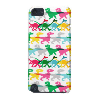 Dino Color Pattern iPod Touch (5th Generation) Cover