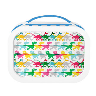 Dino Color Pattern Lunch Box