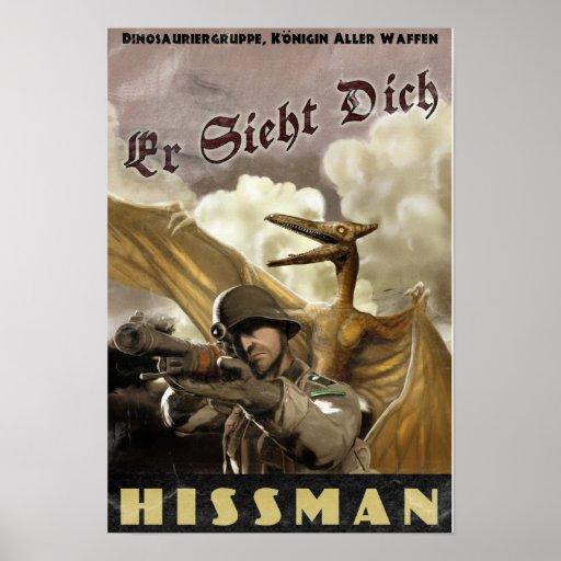 Dino D-Day: Hissman Poster