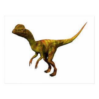 Dino Dinsaurier Saurier dinosaur Dilophosaurus Postkarten