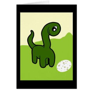 Dino Egg Custom Card / Party Invitation