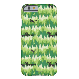 Dino Forest Pattern Barely There iPhone 6 Case