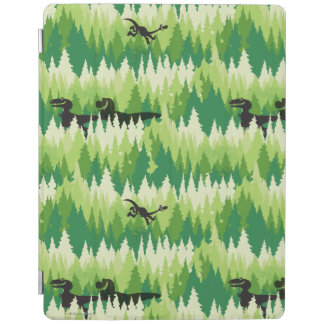 Dino Forest Pattern iPad Cover