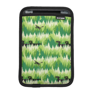 Dino Forest Pattern iPad Mini Sleeve