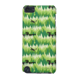 Dino Forest Pattern iPod Touch 5G Cases