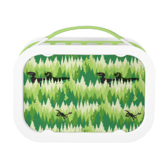 Dino Forest Pattern Lunch Box