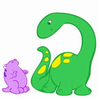 Dino Friends Acrylic Cut Out