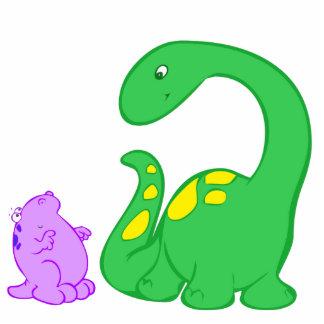 Dino Friends Standing Photo Sculpture