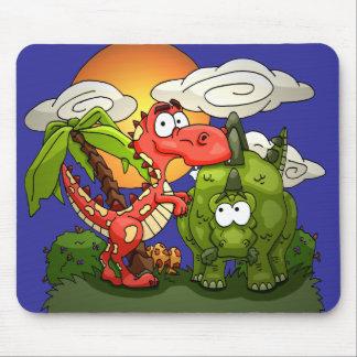 Dino Fun Mouse Pad
