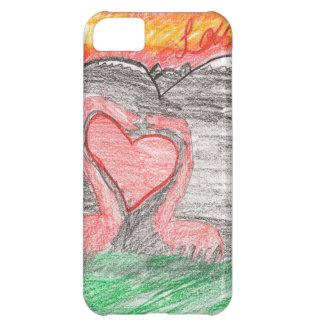 Dino Love iPhone 5C Cover