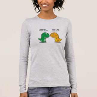 Dino Love Long Sleeve T-Shirt