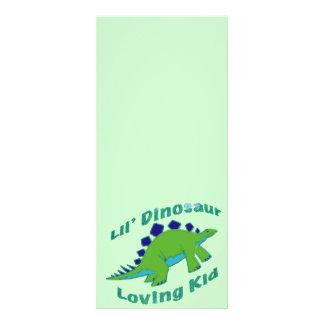 Dino Loving Kid Rack Card