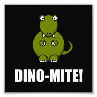 Dino Mite Dinosaur Art Photo