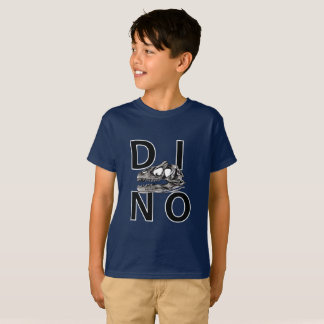 DINO - Navy Kids' Hanes TAGLESS® T-Shirt