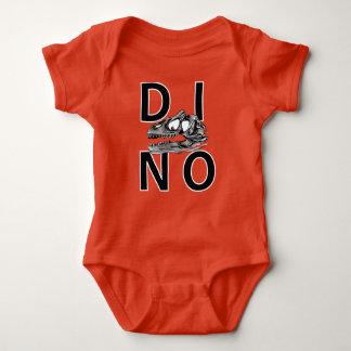 DINO - Orange Baby Jersey Bodysuit