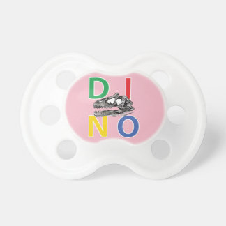 DINO - Pale Pink 0-6 months BooginHead® Pacifier