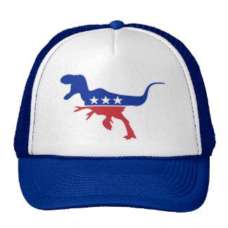 Dino Party Logo Hats