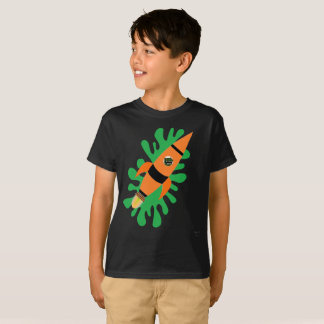 Dino Powered Rocket T-Shirt