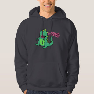 Dino Rawr Hooded Pullover
