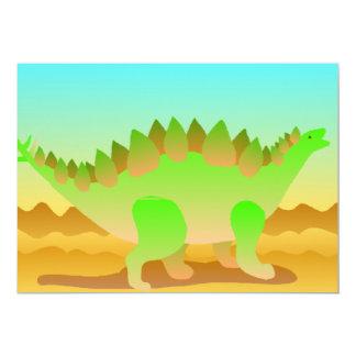 Dino Rawr Set 13 Cm X 18 Cm Invitation Card