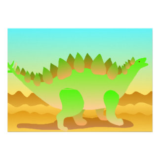 Dino Rawr Set Personalized Announcement