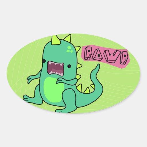 Dino Rawr Sticker