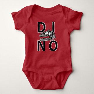 DINO - Red Baby Jersey Bodysuit