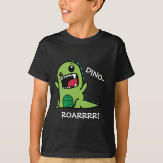 Dino-Roar! Dinosaur Kids T-Shirt (Dark)