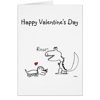 Dino Roaring, Your Special Card