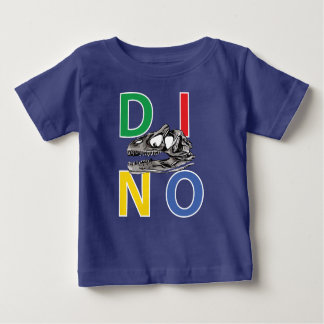 DINO - Royal Blue Baby Fine Jersey T-Shirt