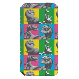 Dino Silhouette Four Square Incipio Watson™ iPhone 6 Wallet Case