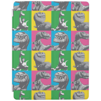 Dino Silhouette Four Square iPad Cover