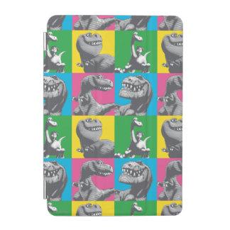 Dino Silhouette Four Square iPad Mini Cover