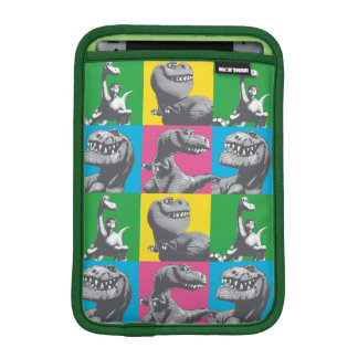 Dino Silhouette Four Square iPad Mini Sleeve
