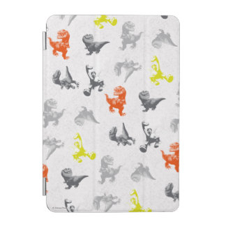 Dino Silhouette Pattern iPad Mini Cover