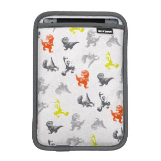Dino Silhouette Pattern iPad Mini Sleeve
