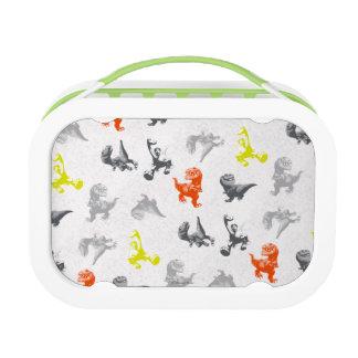 Dino Silhouette Pattern Lunch Box