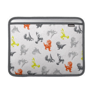 Dino Silhouette Pattern Sleeve For MacBook Air