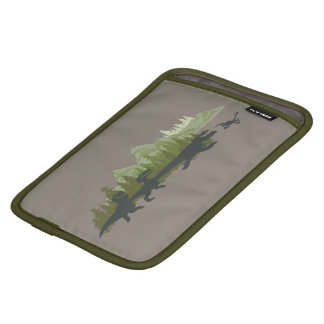 Dino Silhouettes Running iPad Mini Sleeve