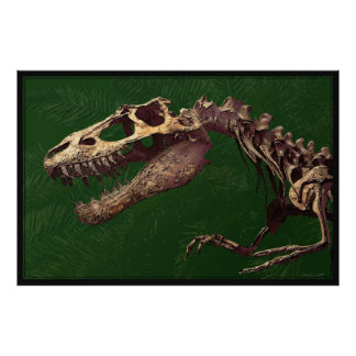 Dino T Rex Poster -60x40 -other sizes available